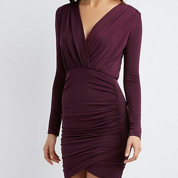 Charlotte Russe Dresses & Skirts - Ruched Bodycon Dress